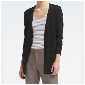A.n.a. Black Boyfriend Cardigan Sweater